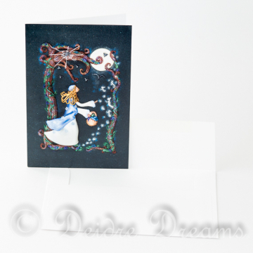 Will o the Wisps Greeting Card with Envelope