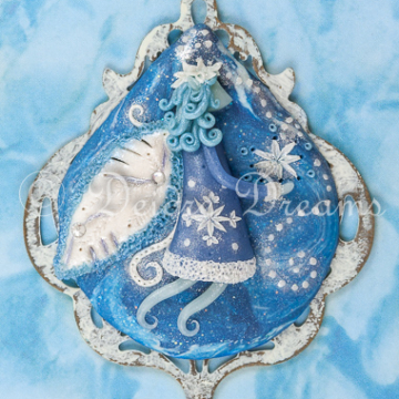Frost Faerie Greeting Card Design