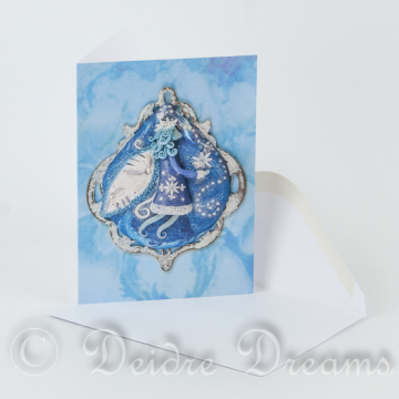 Frost Faerie Greeting Card with White Envelope
