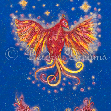 Downloadable Phoenix Print - Digital Download Print