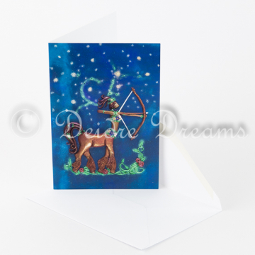 Sagittarius Centaur Woman Greeting Card