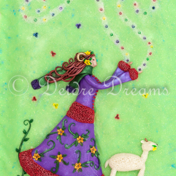 Aries Goddess Art Print - 20x30 cm