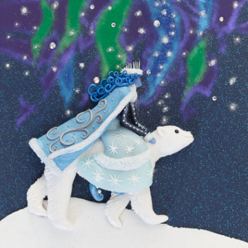 Winter Goddess Art Print - 20x30 cm