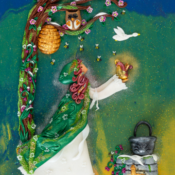 Digital Download Goddess Brigid Print - Downloadable Print