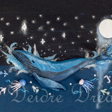 Instant Download Humpback Whale Print - Downloadable Print