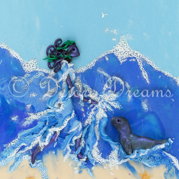 Downloadable Selkie Girl Print - Digital Download Print