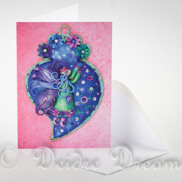 Bluebell Fairy Greeting Card